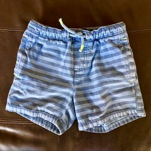 Mini Boden cotton drawstring shorts